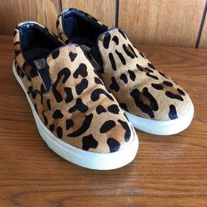 STEVE MADDEN Lepoard print sneakers